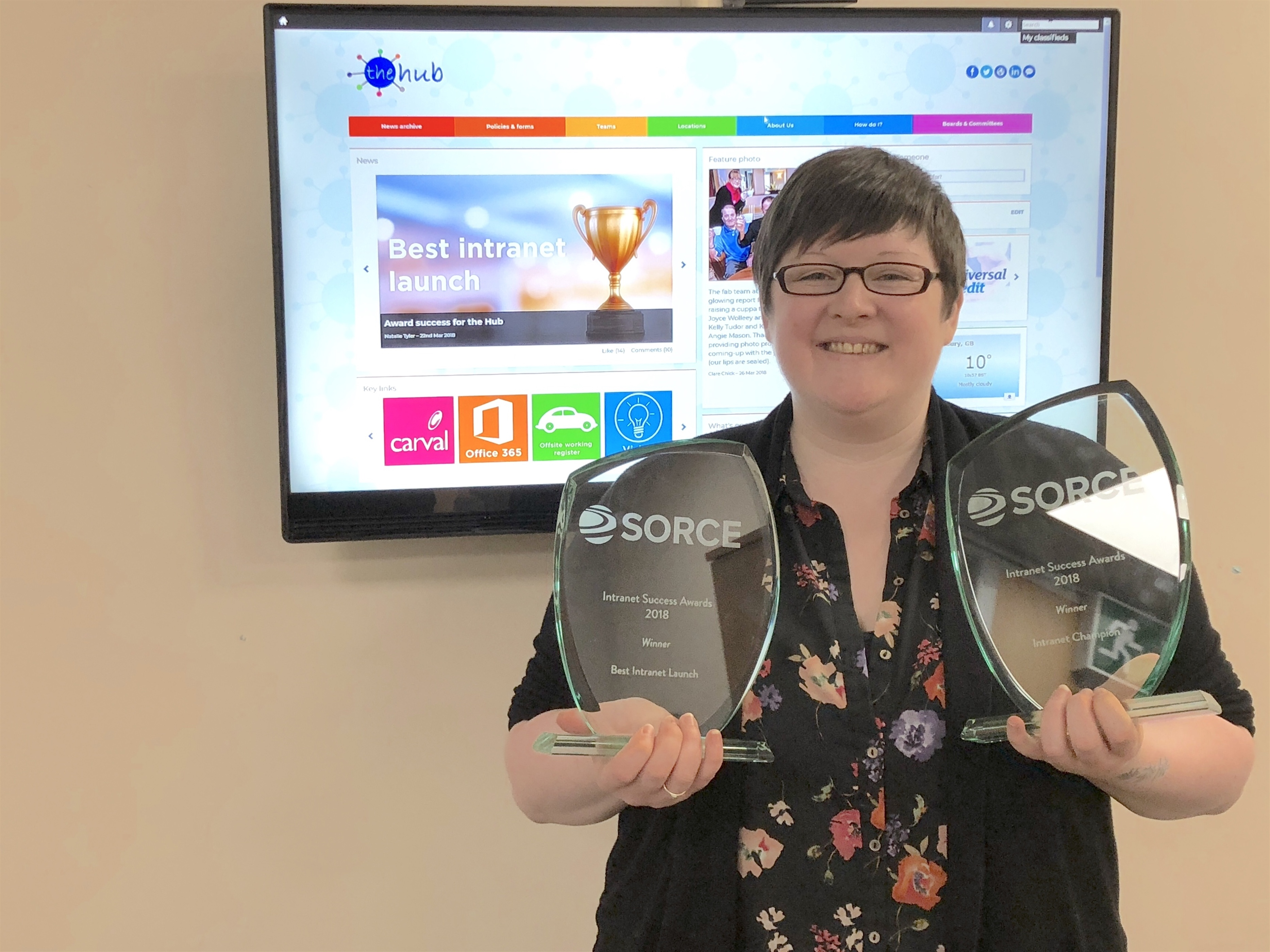 SORCE Intranet Success Awards Housing Plus Group
