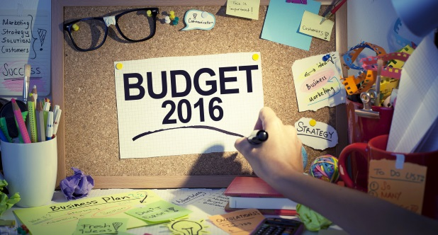 2016 Intranet budgets & timescales