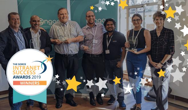 SORCE Intranet Success Award Winners 2019