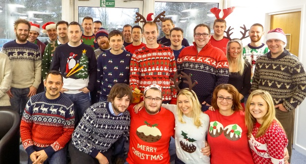 Intranets can be festive